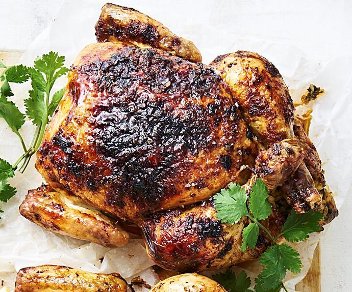greek-style roast chicken recipe