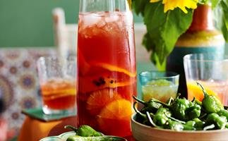 orange and pomegranate sangria recipe