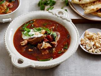 lamb shank and spinach korma soup recipe