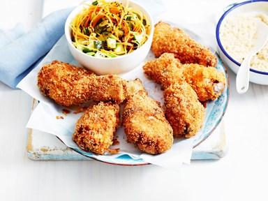 Korean fried chicken drumsticks