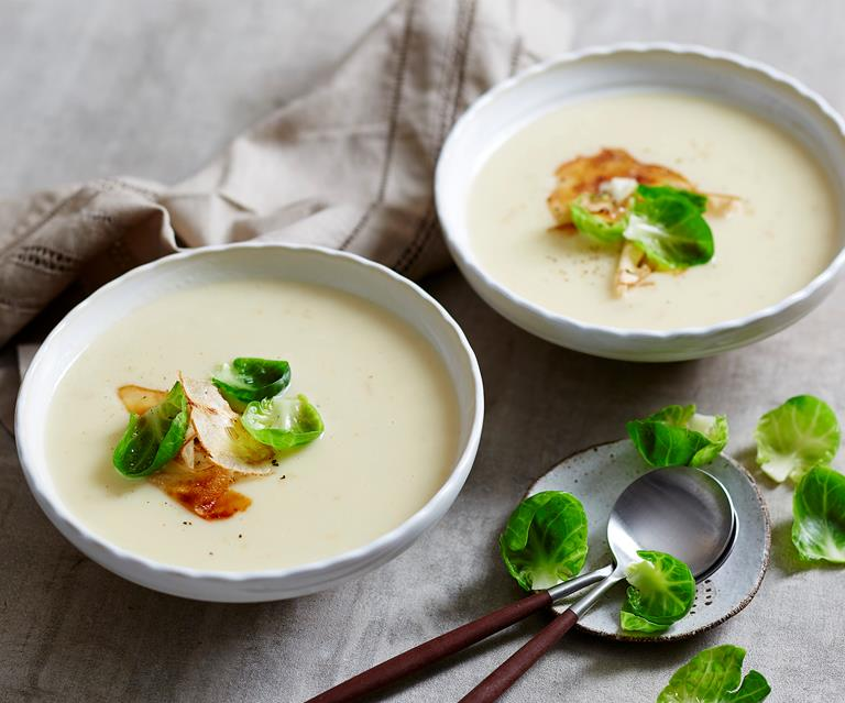 Cauliflower And Jerusalem Artichoke Soup Australian Women S Weekly Food