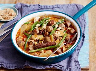 massaman sausage curry recipe