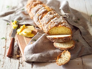 Rosemary cheddar buttermilk soda bread