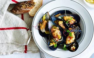 povençale mussels recipe