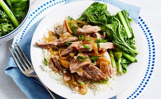 Slow-cooked pork