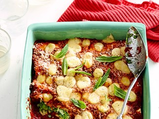 Spinach and broad bean cannelloni