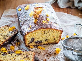 Orange-choc loaf