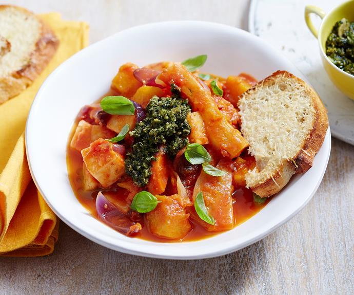 winter vegetable casserole recipe