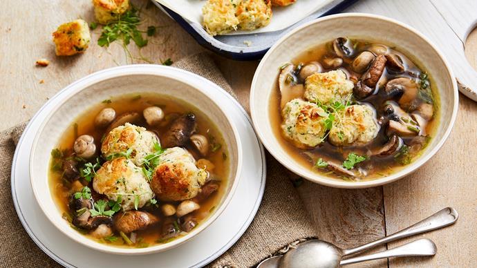 mushroom broth recipe