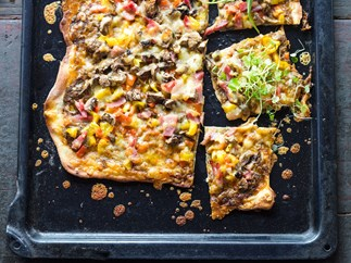 Shannon's easy pizza