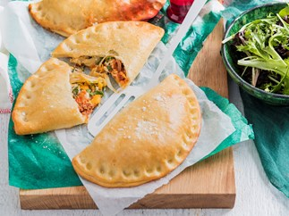bolognese and egg calzone recipe