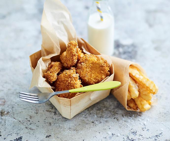 quick chicken nuggets recipe