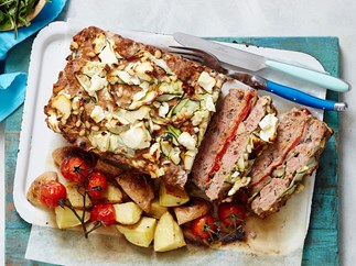 mediterranean layered meatloaf recipe