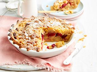 fruit crumble pie recipe
