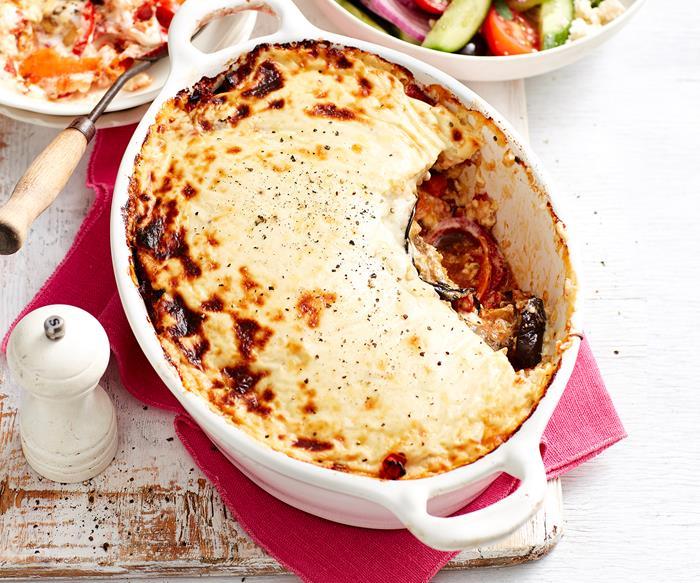 vegetable moussaka recipe