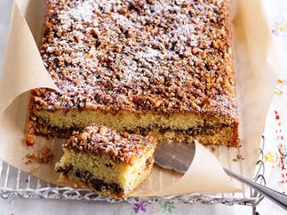 walnut slab cake recipe