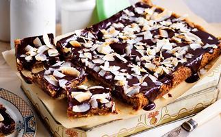 rum and raisin chocolate slice recipe
