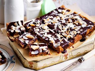 rum and raisin chocolate slice recipe