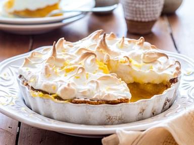 Nana's lemon meringue pie