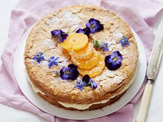 gluten free orange and almond cake