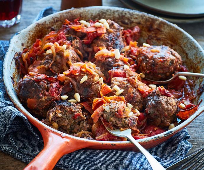 Middle Eastern meatballs