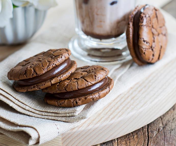 double chocolate brownie cookies recipe