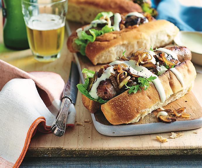 gourmet sausage sandwich recipe
