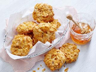 cornflake choc chip cookies
