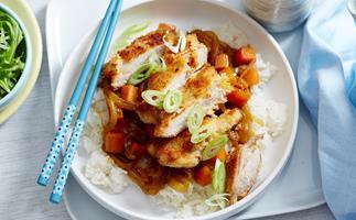 katsu chicken curry