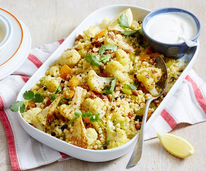 couscous and cauliflower salad