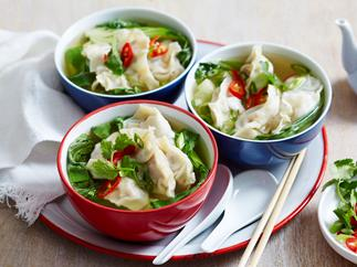 roast pork dumplings