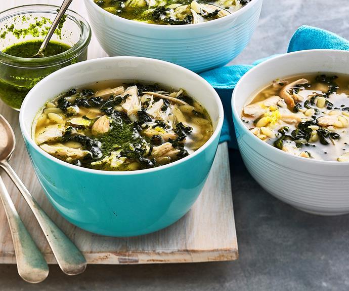 chicken risoni soup recipe