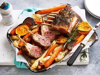 lamb cutlet rack recipe