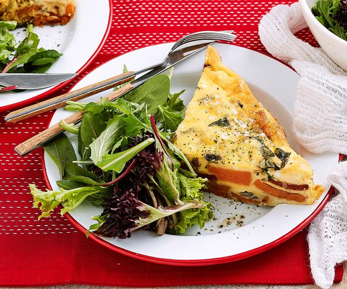 sweet potato and chorizo frittata recipe