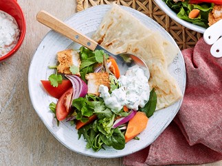 tandoori turkey salad recipe