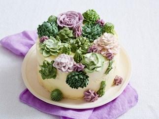 simple succulent cake