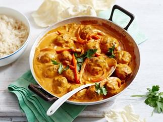 lamb meatball curry recipe