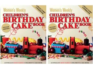 women's weekly children's birthday cake book