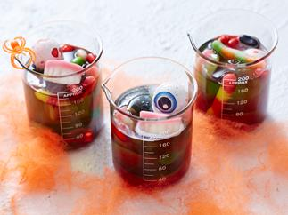 halloween jelly cups