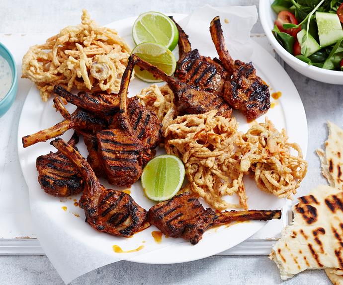 lamb cutlets indian style