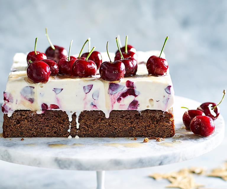 Cherry And Ginger Ice Cream Cake Australian Women S Weekly Food