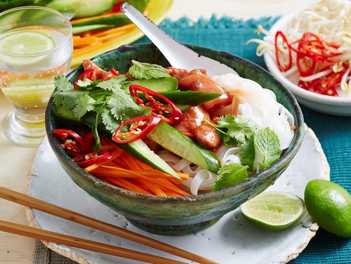 vietnamese rice noodle salad