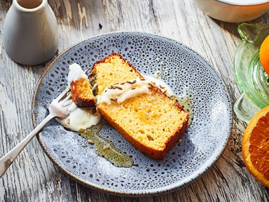 Olive oil and honey cake (gluten-free and dairy-free)