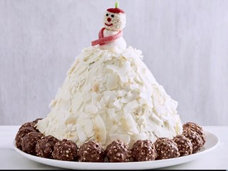 Cookies and cream igloo