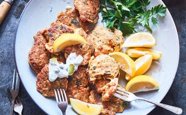 Mum's best-ever mussel fritters
