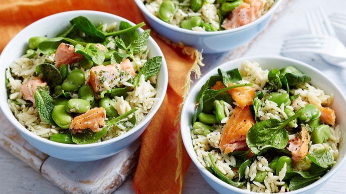 risoni salmon salad