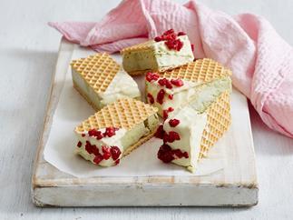 homemade matcha ice cream