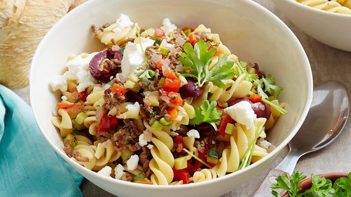 pasta with kalamata olives