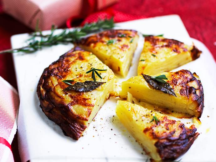 """**[Brandy butter potato cake](https://www.womensweeklyfood.com.au/recipes/brandy-butter-potato-cake-2772