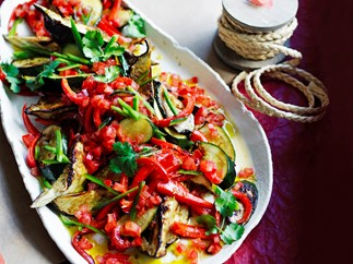 eggplant capsicum ratatouille
